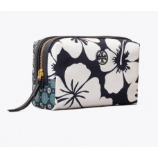 Discount Tory Burch Perry Printed Small Cosmetic Case For Sale